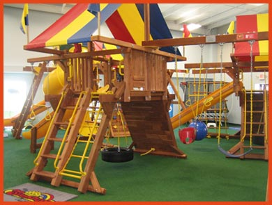 com play r refurbished swing sets prices rainbow set swingsetsolutions b redwood products img