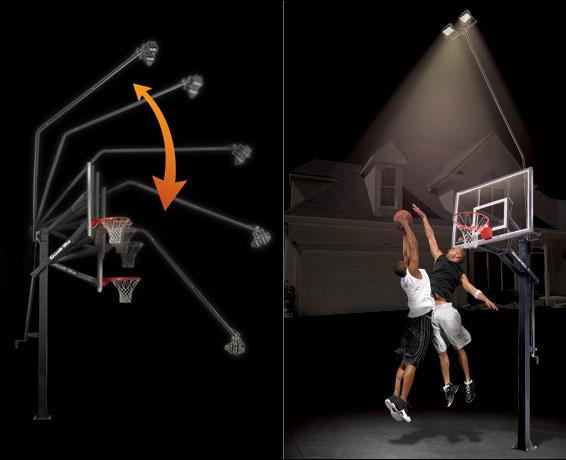Goalrilla Accessories Deluxe Hoop Light Basketball Hoops