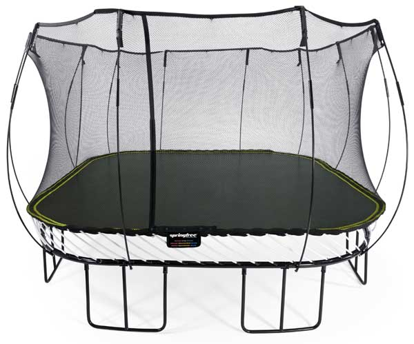Springfree 13 X 13 Jumbo Square S155 Trampolines And